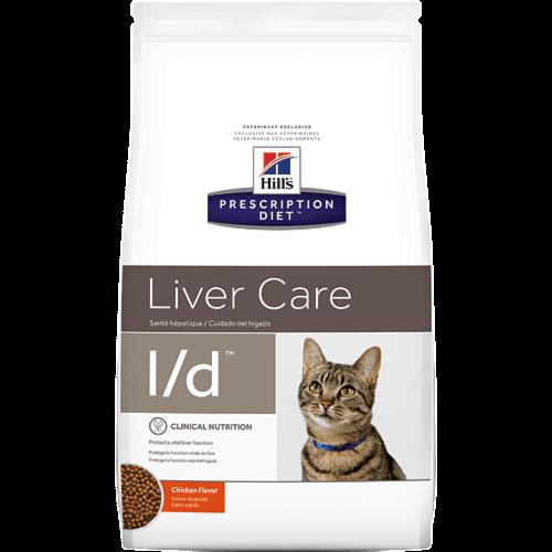 Корм Hill's PD Feline L/d Chiken проти захворювань печінки у котів з куркою 1,5 кг