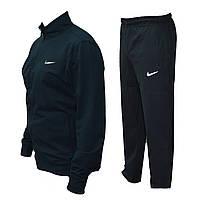 Спортивный мужской костюм  Nike. Темно-синий, без капюшона, весна-лето, повседневный костюм   AD sport
