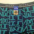 Трусы мужские ИНСАН иероглиф синий 50 размер, фото 2
