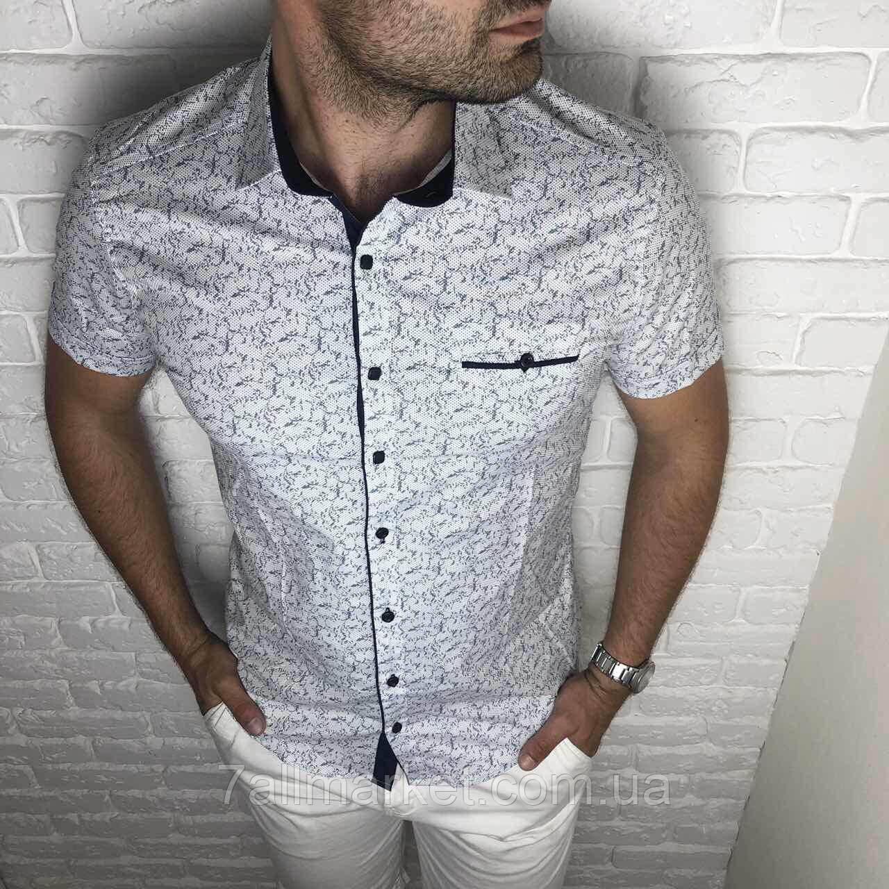 """Рубашка мужская короткий рукав JUNIOR EMRE , р-ры XS-L""""EMRE"""" купить недорого от прямого поставщика"""