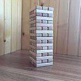 Настільна гра Джанга (Jenga, Дженга, Башта) 54 бруска, фото 2