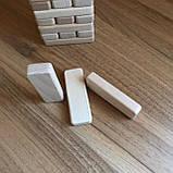 Настільна гра Джанга (Jenga, Дженга, Башта) 54 бруска, фото 5