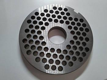 Решетка Unger E Ø 130 мм (ячейка 8 мм) для промышленной мясорубки мод. 42