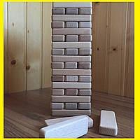 Настольная игра  Джанга (Jenga, Дженга, Башня) 54 бруска
