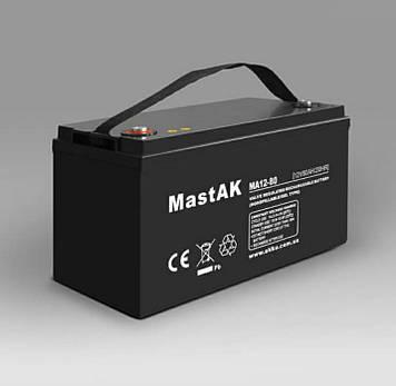 Аккумулятор MastAK MA12-80 ( 12v 80Ah )