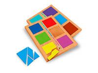 Игра Сложи квадрат по методике Никитина 2 уровень Вундеркинд СК-020