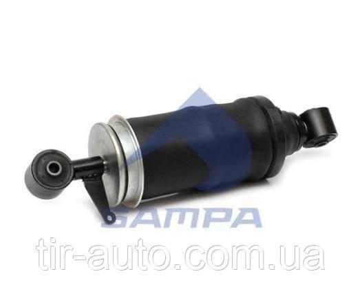 Амортизатор кабіни MAN TGA з пневмобаллоном передній ( 340-380 ) ( SAMPA ) 020.269-01