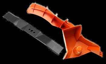 Мульчирующая вставка+нож  Husqvarna (для  LC 353V/LC 353VI з металлической декой)