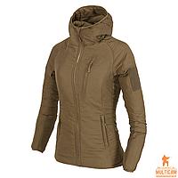 Куртка женская утепленная Helikon-Tex® WOMENS WOLFHOUND Hoodie Jacket® - Coyote