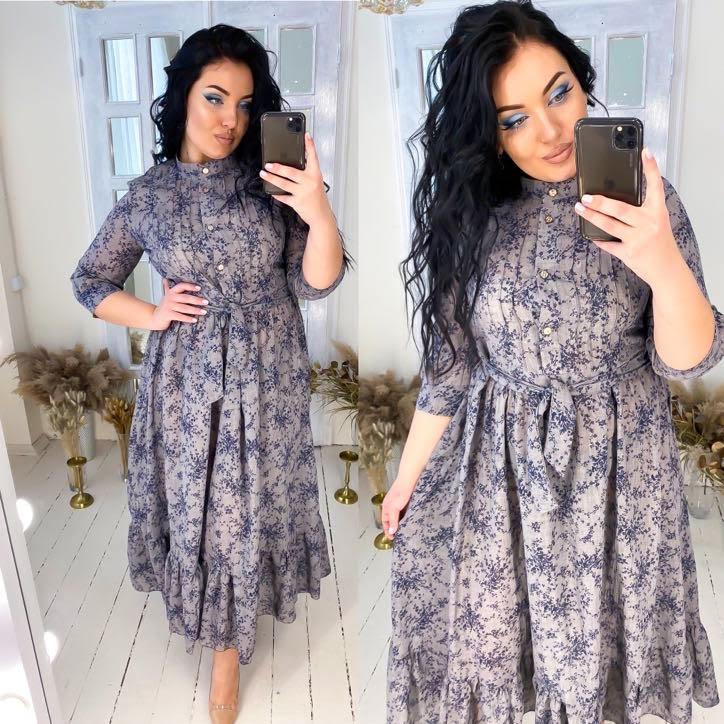 Платье женское 0565дг батал