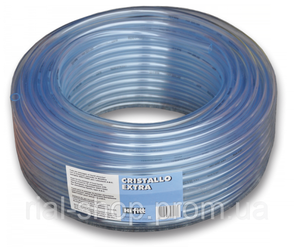 CRISTALLO Шланг прозрачный игелитовый 8*1,5 мм, IGCE08*11/100