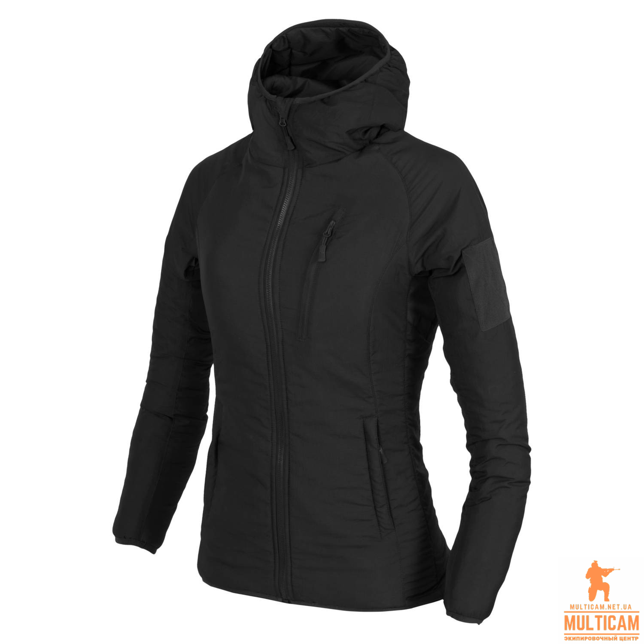 Куртка женская утепленная Helikon-Tex® WOMENS WOLFHOUND Hoodie Jacket® - Black