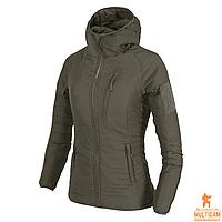 Куртка женская утепленная Helikon-Tex® WOMENS WOLFHOUND Hoodie Jacket® - Taiga Green XL