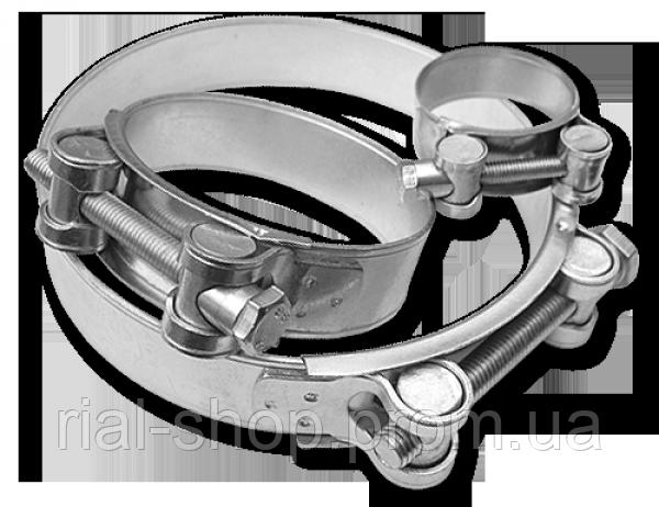 Хомут силовой одноболтовый GBS W1 104-112/24 мм, GBS108/24