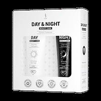 Натуральная зубная паста без фтора и кремния DuoLife Day & Night Beauty Care (2x50ml)