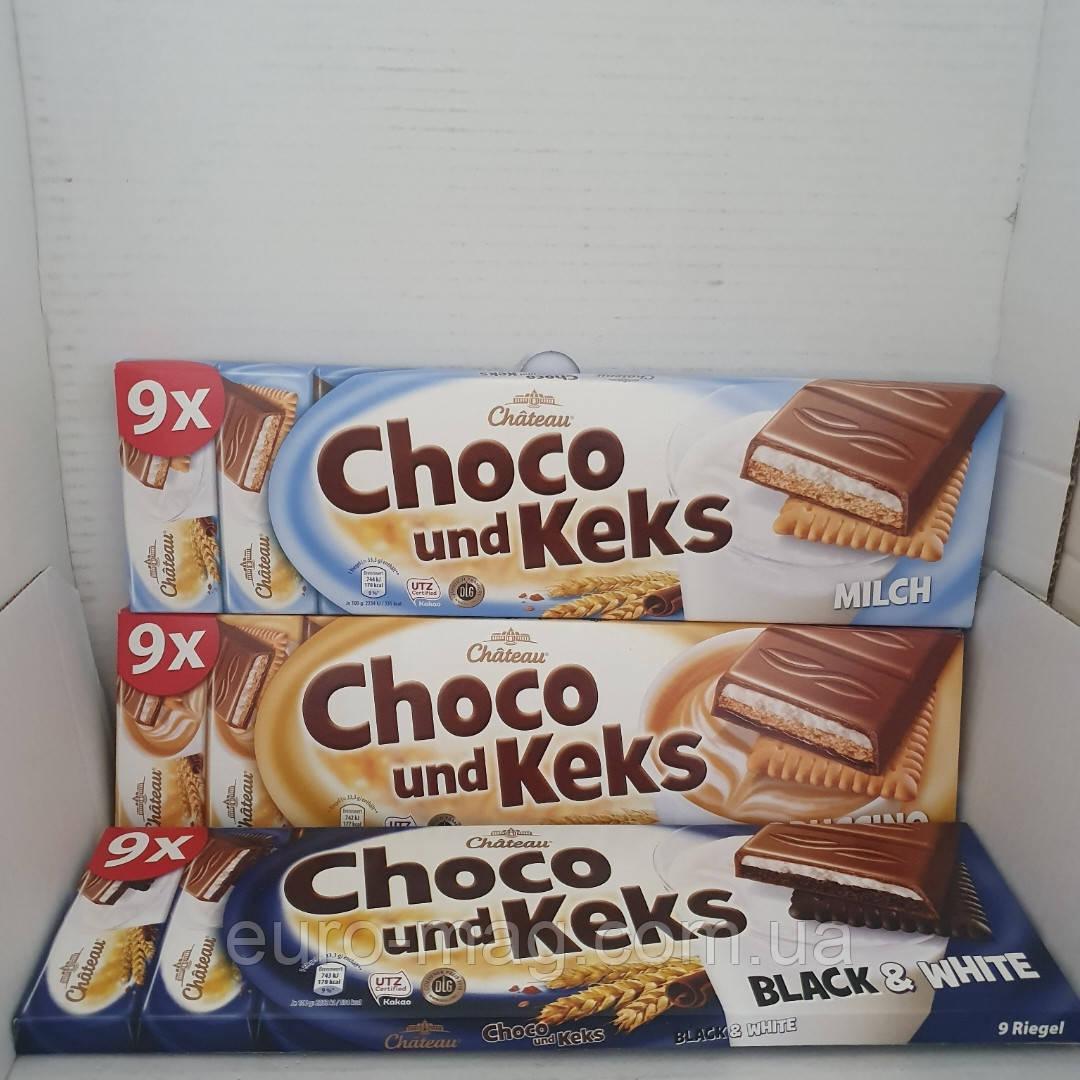Choco Keks печенье с молочным шоколадным кремом 300г