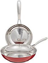 Набор сковородок KitchenAid KCS08TPER, 21см + 26см