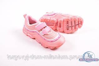 Кроссовки для девочки  СОЛНЦЕ KJ05-3F Размер:32,34