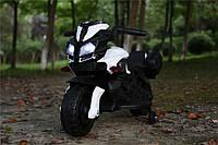 Детский электромотоцикл T-7218 EVA колёса белый