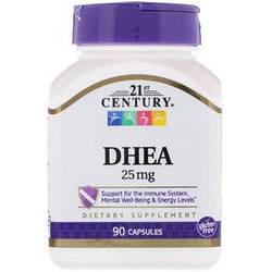 Поддержка имунитета 21st Century ДХЕА 25 mg 90 caps