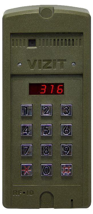 Блок виклику домофона Vizit БВД-316F