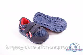 Кроссовки для мальчика со светящейся подошвой  СОЛНЦЕ KJ85-1B Размер:22