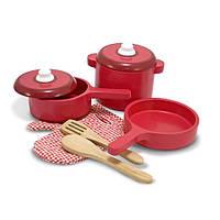 Игровой набор деревянной посуды Melissa&Doug MD12610