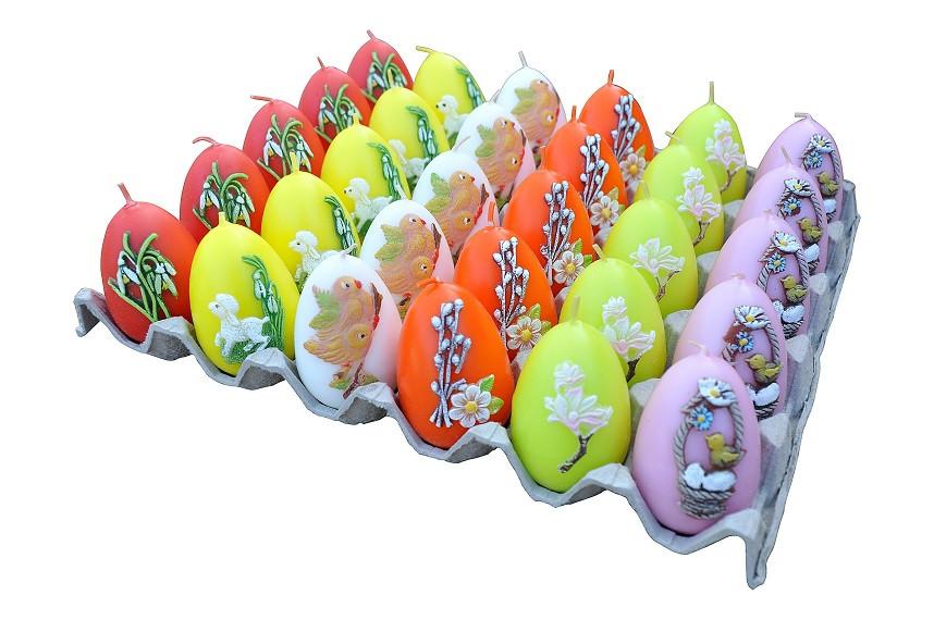 Свечи пасхальные 30 шт 45 х 65 мм