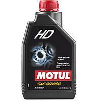Масло трансмиссионное минеральное MOTUL HD SAE 80W90 1л. 105781/317501