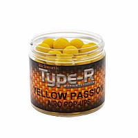 Бойлы плавающие Richworth Type-R Airo Pop-ups Yellow Passion 15мм, 200мл