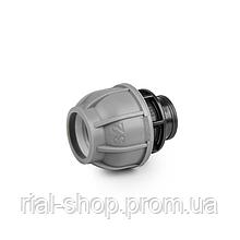 """Муфта для труб PE, 32 мм, PN10, с внутренней резбой 1"""", DSRA10L32F1"""