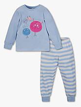 Теплая велюровая пижама на девочку C&A Германия Размер 122