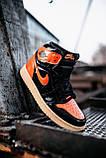 Стильные мужские кроссовки Jordan 1 Retro, фото 5