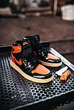 Стильные мужские кроссовки Jordan 1 Retro, фото 6