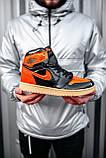 Стильные мужские кроссовки Jordan 1 Retro, фото 7