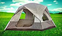 Палатка туристическая пятиместная с тамбуром и навесом 1911