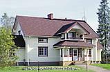 Ливнеприемник правый коричневый 90/75 Profil, фото 7