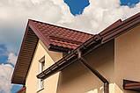 Ливнеприемник правый коричневый 90/75 Profil, фото 8