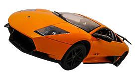 Машинка Meizhi лицензированный Lamborghini LP670-4 SV на радиоуправлении, масштаб 1к10 желтый SKL17-139620