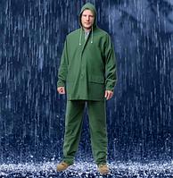 Костюм дождевик Влагозащитный Рыбацкий Отличное качество (все размеры) зеленый/синий
