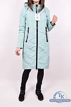 Пальто женское демисезонное (цв.мяты) из плащевки VISDEER B083-S04 Размер:42,44