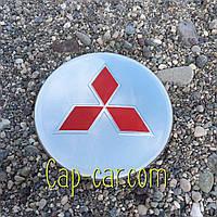 3D наклейка для дисков Mitsubishi. 65мм ( Митсубиси )