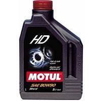 Масло трансмиссионное минеральное MOTUL HD SAE 80W90 2л. 100103/317502