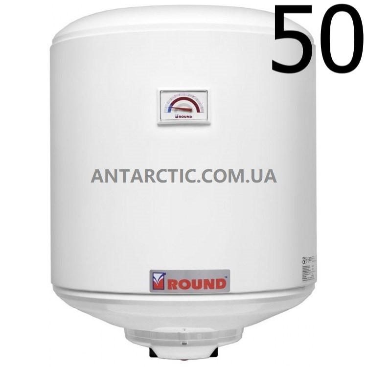 Бойлер 50 л, литров ATLANTIC ROUND VMR 50 электрический накопительный водонагреватель