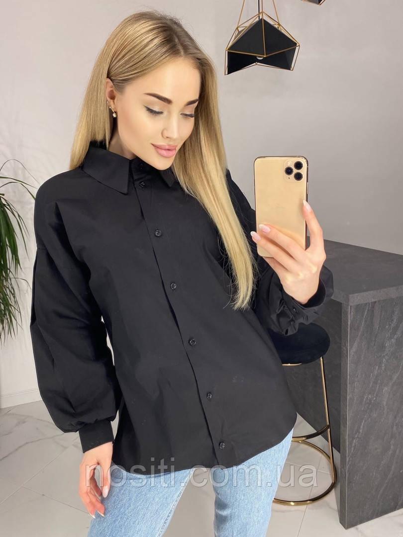 Рубашка oversize женская