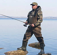 Рыбацкий полукомбинезон заброды Неопреновые качественные польские