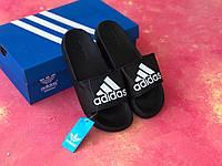 Сланцы/шлепки/шлепанцы/Adidas/ адидас/черные, фото 1