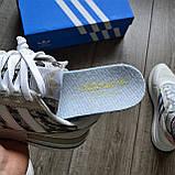Стильні кросівки Adidas ZX 500 RM, 'White Camo', фото 4