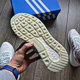 Стильні кросівки Adidas ZX 500 RM, 'White Camo', фото 5