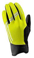 Велоперчатки зимние женские Altura Women's Nightvision Windproof, yellow fluo, M